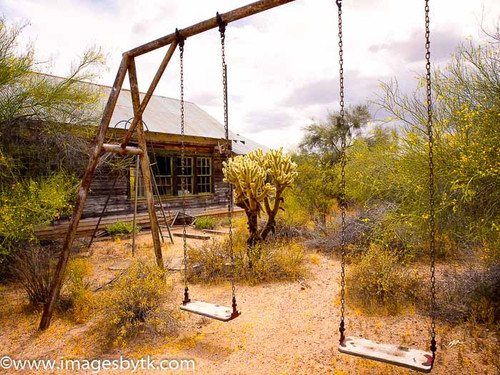 Vulture Mine School Playground Fine Art Photograhy for Sale