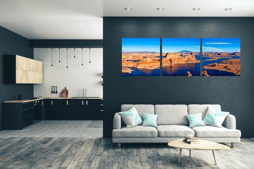 Alstrom Point Panoramic - Lake Powel - Utah