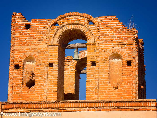 Bell - Mission Tumacacori  Arizona Fine Art Photograhy for Sale