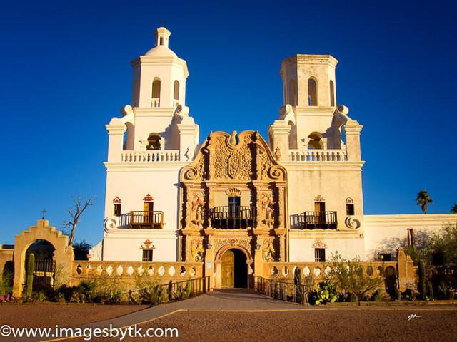 Mission San Xavier del Bac  Arizona Fine Art Photograhy for Sale