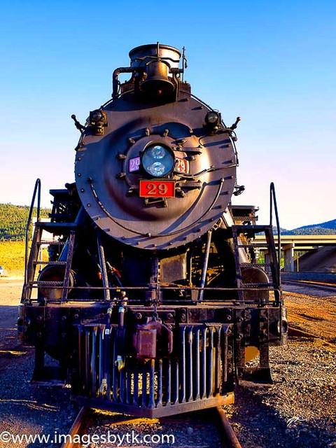 Grand Canyon Railway #29 Up Close