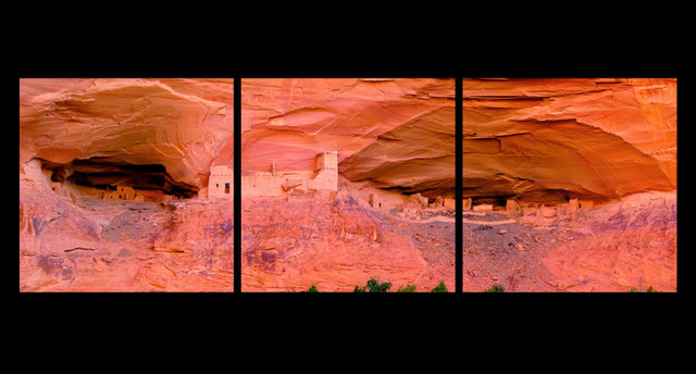 Mummy Cave Ruins - Canyon De Chelly - Arizona New Fine Art Photograhy for Sale