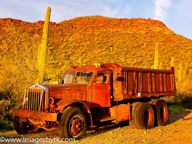 Old Truck - Robson Arizona Mining World