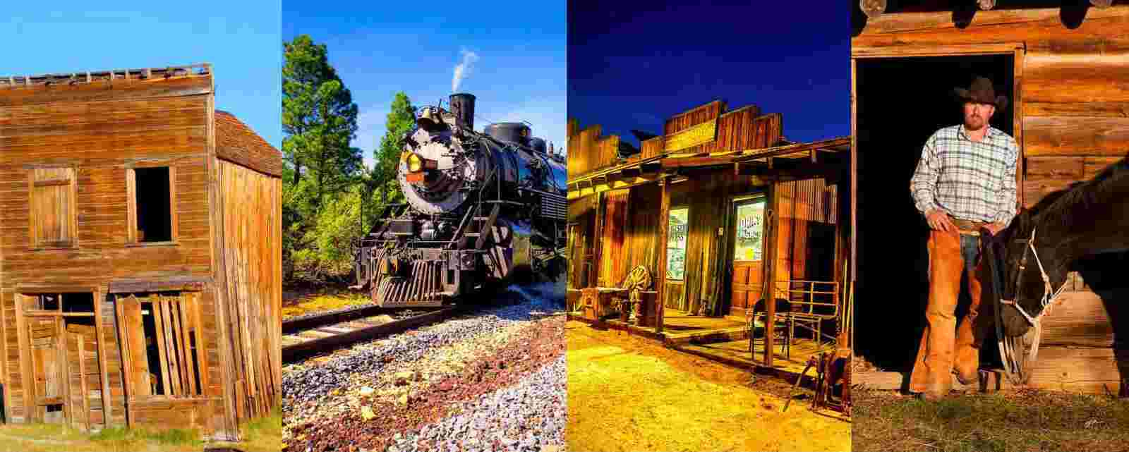 Ghost Towns, Old Cars and Cowboys Photographs