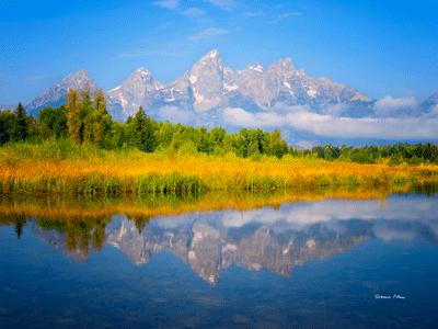 Morning Glow - Grand Teton National Park Wyoming