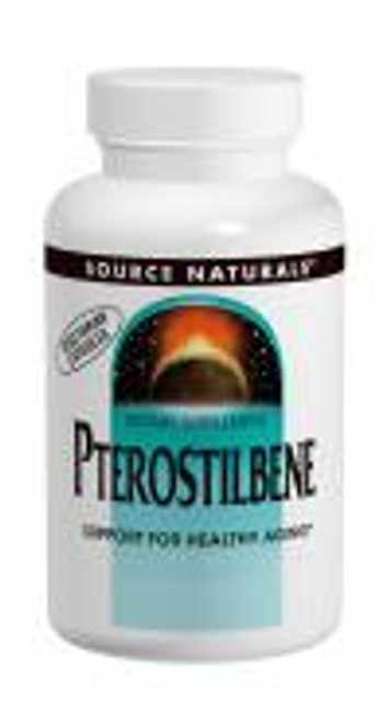 50mg - 60 Veggie capsules Pterostilbene is similar in structure to the anti-aging compound resveratrol, but is more bioavailable and preliminary research indicates that in some ways, it may be even more beneficial.