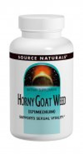 1000mg - 30 Tablets Horny Goat weed (Epimedium) is one of the most valued tonics of Chinese herbalism. In China it is especially used for supporting healthy sexual activity.