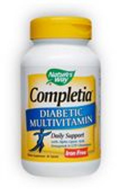 A Special Multivitamin Formulated for Diabetics • Diabetic multi-vitamin for proper nutrition. • Daily support of diabetic blood sugar levels.