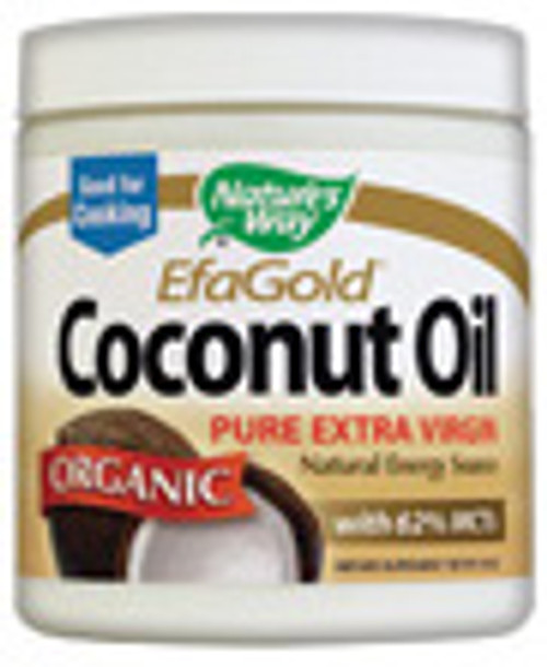 """Pure Extra Virgin Organic Coconut Oil Coconut oil is a natural energy source because it contains MCTs (medium chain) """"good fats"""" the body uses to produce energy."""