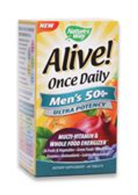 Nature's Way Alive! Once Daily Men's 50+ 60 Tablets