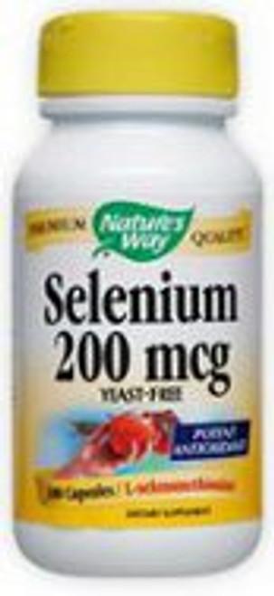 Nature's Way Selenium 200 mcg - 100 Capsules