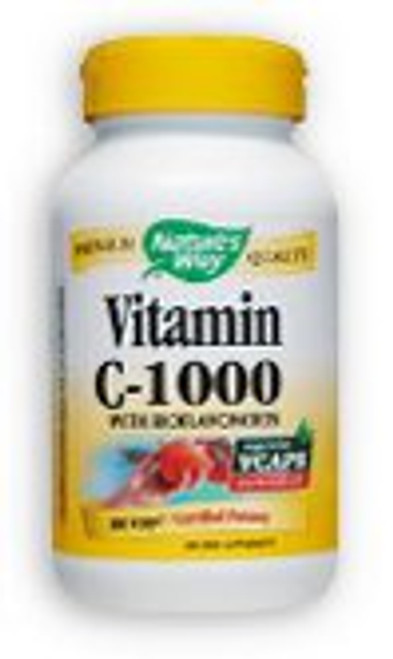 Nature's Way Vitamin C-1000 with Bioflavonoids 250 Capsules