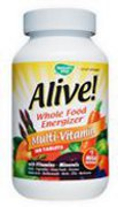 Alive's tablets dissolve rapidly to ensure that all of its 119 bio-available ingredients are absorbed and utilized by the body. Iron free.