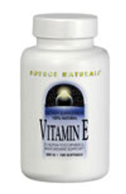 Source Naturals Vitamin E D-Alpha Tocopheryl 400 IU - 100 Softgels