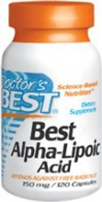 Doctor's Best Alpha Lipoic Acid 300mg 180 Capsules