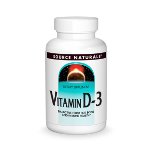 Source Naturals Vitamin D-3 5,000 IU  200 Softgels