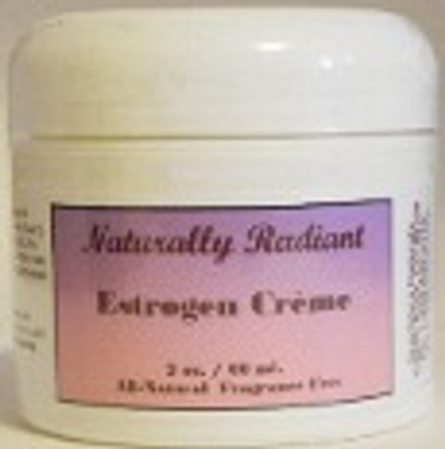 Naturally Radiant Natural Estrogen Crème 2 oz