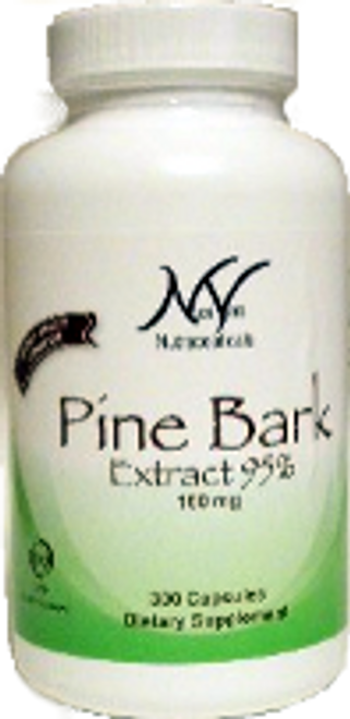 NutriVera Nutraceuticals Pine Bark Extract 95% 300 Capsules