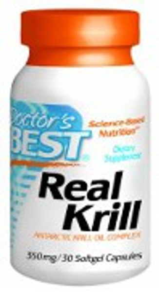Doctor's Best Real Krill 350mg 60 Softgels