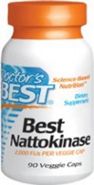 Doctor's Best Nattokinase 2,000 FU 90 Vegetarian Capsules