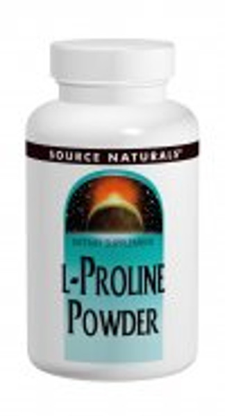 4 oz - 45 Day Supply L-Proline is an essential amino acid and precursor, along with vitamin C, for collagen. Collagen is a building block of tendons, ligaments, arteries, veins and muscles (heart muscle).