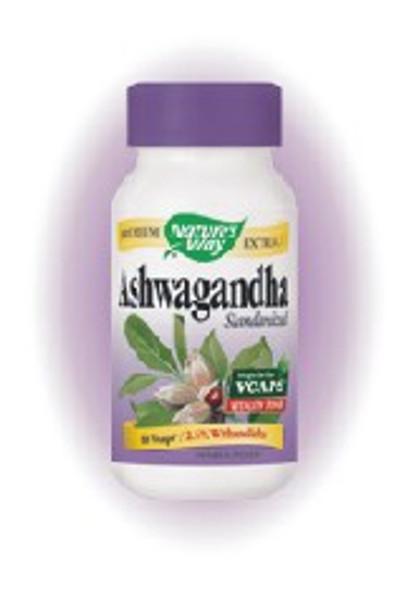 Nature's Way Ashwagandha Extract 500 mg - 60 VCapsules