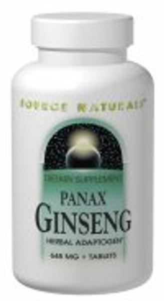 Source Naturals Panax Ginseng 648 mg 100 Tablets