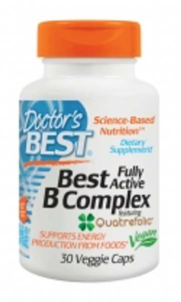 Doctor's Best B-Complex 60 V-Caps