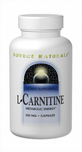 Source Naturals L-Carnitine         250mg   120 capsules
