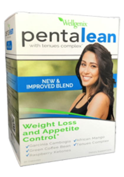PentaLean - Powerful, effective weight loss and appetite control formula -New & Improved Blend - Caffeine free