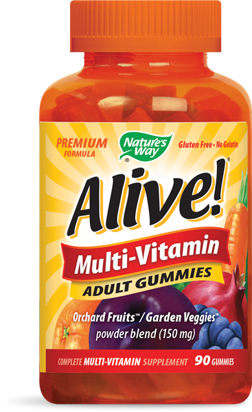 Nature's Way Alive Multi-Vitamin Adult Gummies