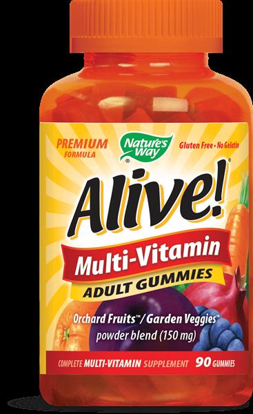 Nature's Way Alive Multi-Vitamin Adult Gummies