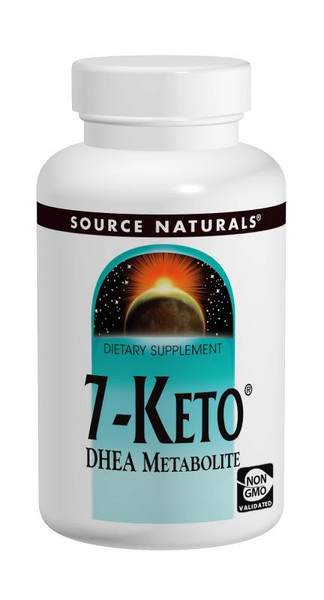 Source Naturals 7-Keto  DHEA Metabolite 30 Tablets