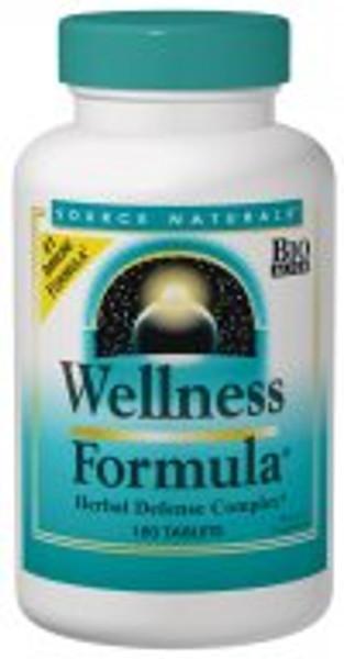 Source Naturals Wellness Formula 90 Tablets