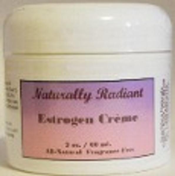 Naturally Radiant Natural Estrogen Crème 2 oz