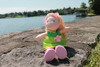 """Soft 12"""" Doll Mali with Blonde Hair view9"""