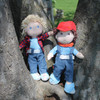"""Soft 12"""" Doll Graham with Brown Hair view6"""