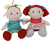 """HABA Soft Doll Mirle 8"""" - First Baby Doll with Blonde Pony Tail for Ages 6 Months +"""