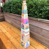 On the Farm Cardboard Stacking & Nesting Cubes view5