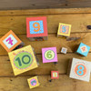 On the Farm Cardboard Stacking & Nesting Cubes view7
