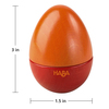 Set of 5 Wooden Musical Eggs view3