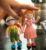 Little Friends Nils Doll with Overalls view4