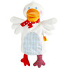 HABA Gallivanting Goose Glove Puppet with Squeaker and Rustling Foil