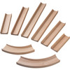 HABA Kullerbu Expansion Set - Straight Tracks and Curves - 8 Piece Set for Expanded Layouts