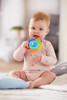Blossom Plastic Baby Rattle & Teething Toy