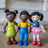 Little Friends Lara Doll with Black Pigtails view3