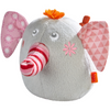 HABA Clutching Toy Nelly The Elephant - Soft Plush Machine Washable Baby Toy with Rattling Noise for Ages 6 Months +