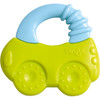 HABA Clutching Toy Car - Water Filled Silicone Teether and Rattle with Stimulating Textures