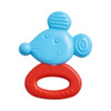 HABA Clutching Toy Mouse - Water Filled Silicone Teether and Rattle
