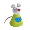 HABA Maggie The Mouse Reversible Soft Plush Clutching Toy